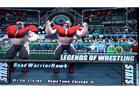 Test cool Legends of Wrestling PS2 - YouTube