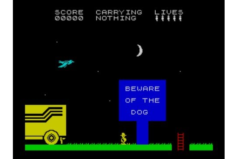 Chuckie Egg 2 Walkthrough, ZX Spectrum - YouTube