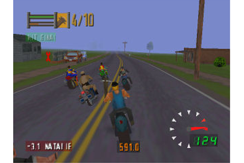 Video Game Reviews from The Sports Guy: Road Rash 64