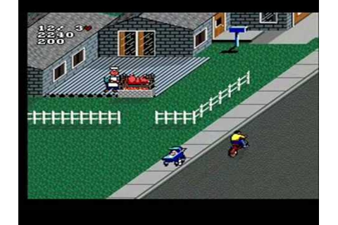 Paperboy 2 (SNES) Gameplay - YouTube