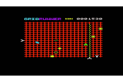 Gridrunner for the Commodore VIC-20 / Commodore VC-20 ...
