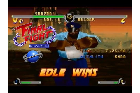 Final Fight Revenge Edi. E playthrough (SEGA Saturn) - YouTube