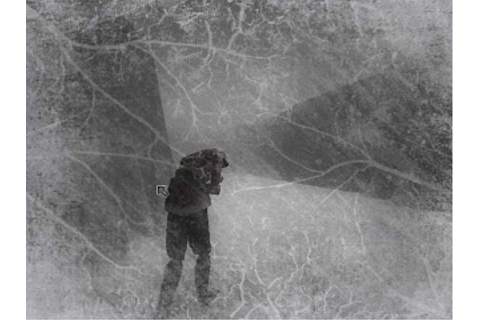 The Nocturnal Rambler: In the Bleak of Winter: The Snowfield