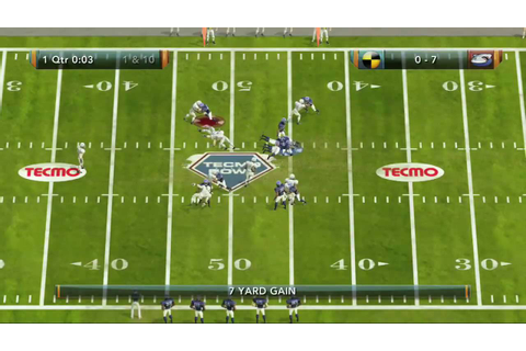 Achievement Guide: Tecmo Bowl Throwback - It's Good ...