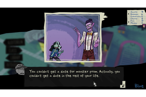 Monster Prom PC review: Monster Seeking Monster