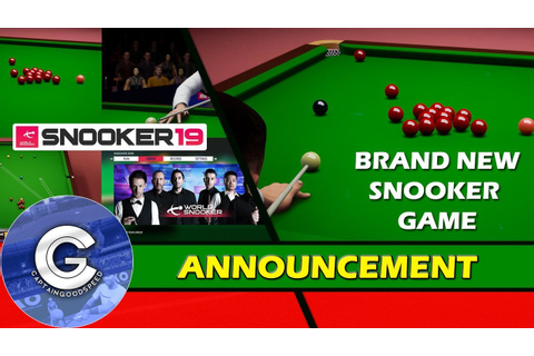 BRAND NEW SNOOKER GAME | Snooker 19 (PS4/XBOX ONE/Switch ...