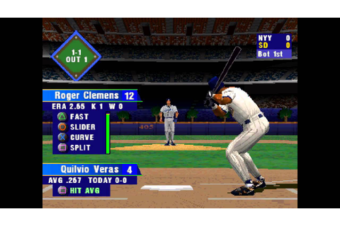 MLB 2000 ... (PS1) 60fps - YouTube