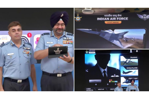 Indian Air Force: A Cut Above Mobile Game Launched by IAF ...