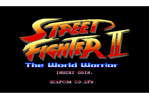 Street Fighter II: The World Warrior (1991) Arcade game