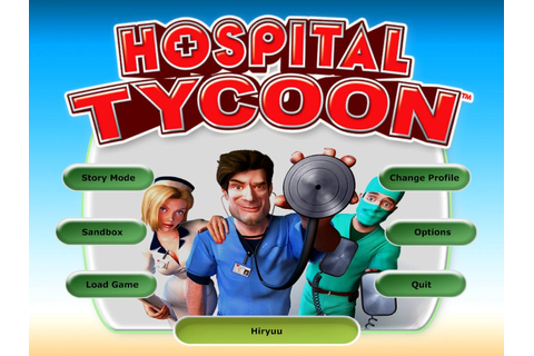 Games by Hiryuu: PC - Hospital Tycoon [Multi6]