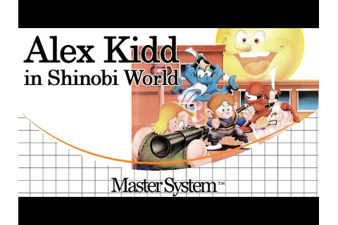 Alex Kidd in Shinobi World - Game Reviews by James ...