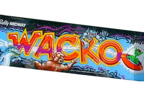 Wacko - Videogame by Bally Midway