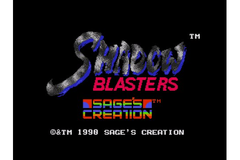 [Full GamePlay] Shadow Blasters (Hard Mode) [Sega ...
