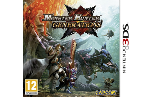 Monster Hunter Generations - 3DS/2DS Game | Public