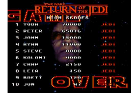 Game Over: Super Star Wars - Return of the Jedi - YouTube