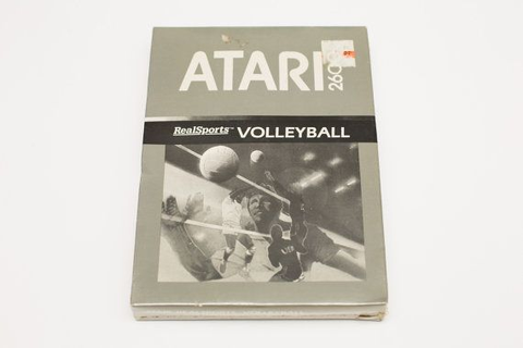 Vintage NOS Atari 2600 RealSports Volleyball Game, Factory ...