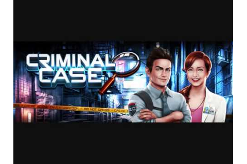 Criminal Case Facebook Game - Main Theme - YouTube