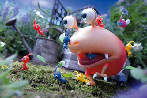 Kilted Moose's games blog: Pikmin 3 - Wii U
