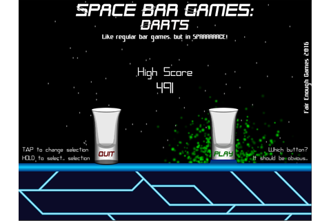 Space Bar Games: Darts by Fair Enough Games