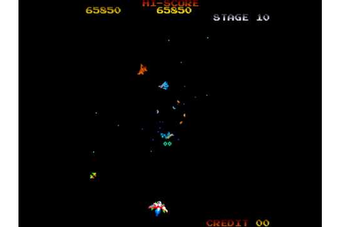Arcade Game: Gyruss (1983 Konami) - YouTube