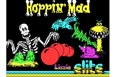 Hoppin' Mad (1988) by Elite ZX Spectrum game