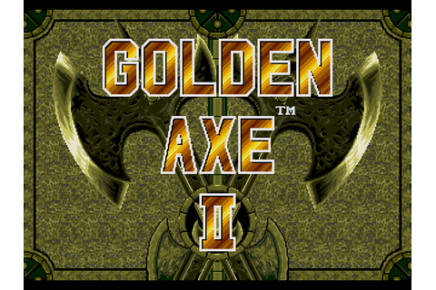 Golden Axe 2 :: Gallery :: DJ OldGames