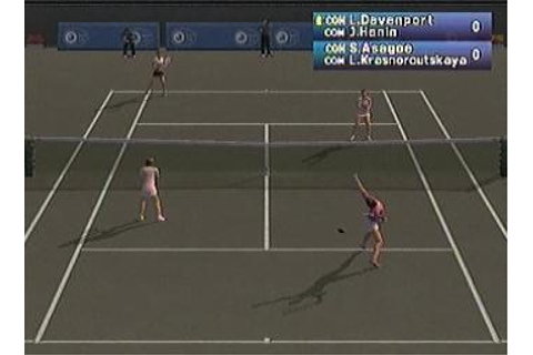 Screens: Pro Tennis WTA Tour - PS2 (20 of 26)