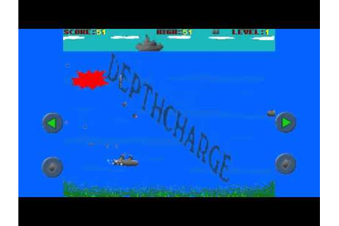 Depthcharge - Android game by RTWD Productions - YouTube