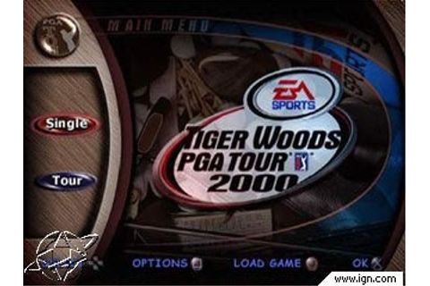 Tiger Woods PGA Tour 2000 - PlayStation - IGN
