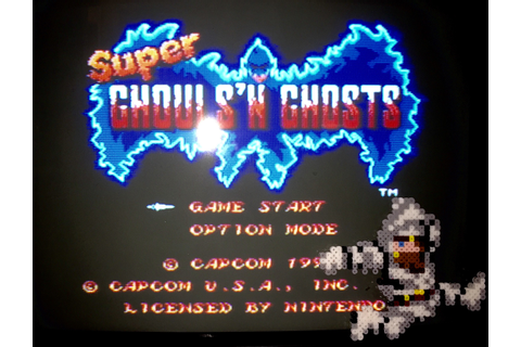 NA » Super Ghouls 'n Ghosts - SNES