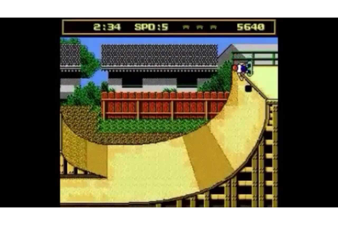 Evolution Of Skateboard Games 1986/2012 (parte 1) - YouTube