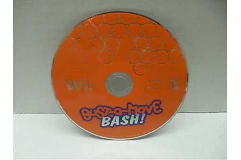 Bust-A-Move Bash! Wii Dance Video Game NO CASE | eBay