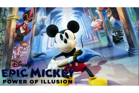 Disney Epic Mickey Power of Illusion (3DS) Review - YouTube