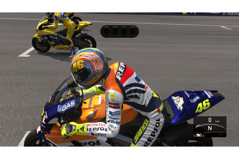 Valentino Rossi The Game - MotoGP(4-Stroke) 2002 - LAGUNA ...