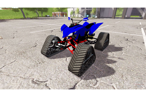 Yamaha Raptor for Farming Simulator 2017