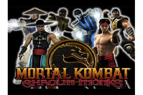 MORTAL KOMBAT Shaolin Monks (Film-Game complet Fr PS2 ...