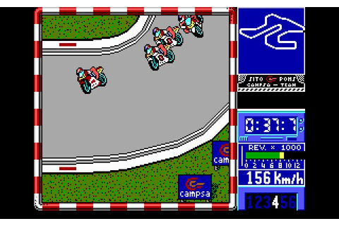 Sito Pons 500cc Grand Prix Download (1990 Sports Game)