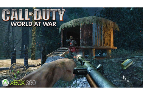 Call of Duty: World at War - Xbox 360 / Ps3 Gameplay (2008 ...