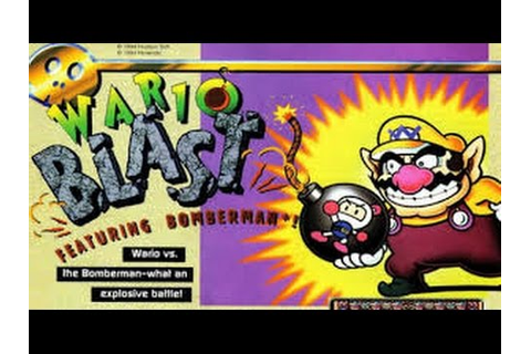 Gameplay Wario Blast Featuring Bomberman (GB) - YouTube