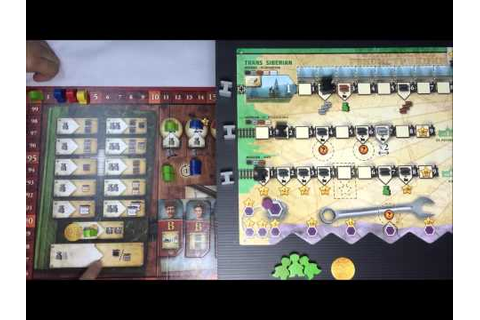 BOARD GAME BY.BOZO13020+.+ วิธีเล่นRussian RailRoads - YouTube