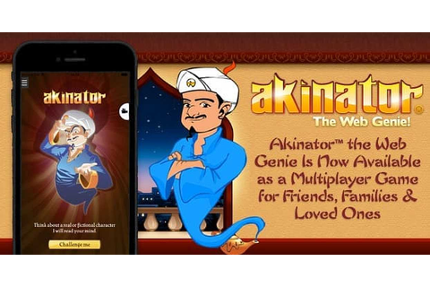 Akinator™ the Web Genie Is Now Available as a Multiplayer ...