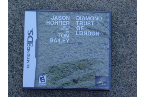 Diamond Trust of London - Regular Edition - Nintendo DS ...