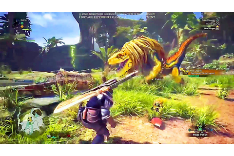 MONSTER HUNTER WORLD : 20 minutes de GAMEPLAY dans la ...