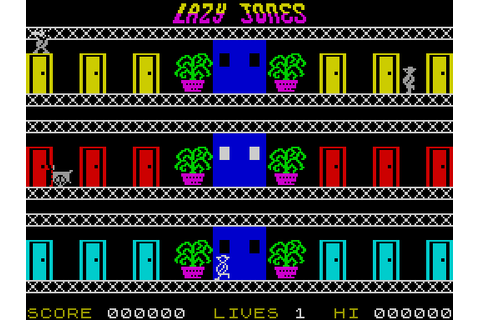 Lazy Jones (1984) by Terminal Software ZX Spectrum game