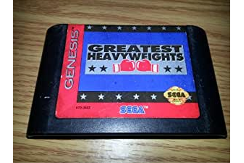 Amazon.com: Greatest Heavyweights: Video Games