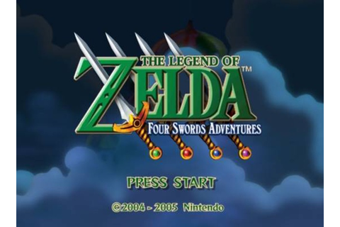 The Legend of Zelda: Four Swords Adventures (Game ...