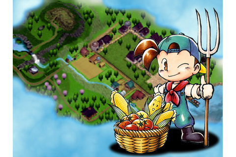 Free Download Games Harvest Moon Back to Nature Full ...