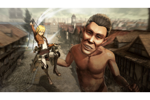 New Attack On Titan Video Game Trailers, Screenshots, Pre ...