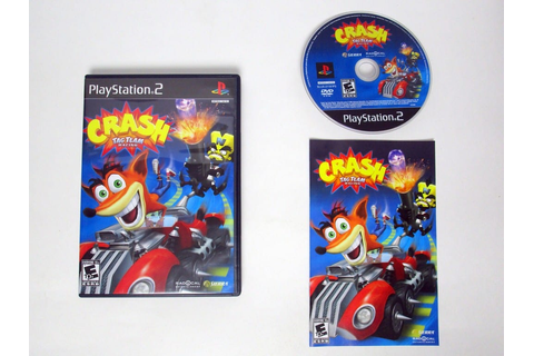 Crash Tag Team Racing game for Playstation 2 (Complete ...