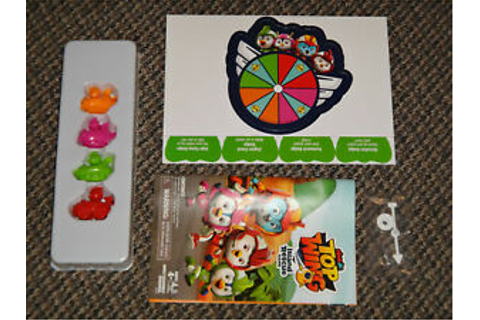Nick Jr Top Wing Rescue Island Game PARTS REPLACMENT LOT ...